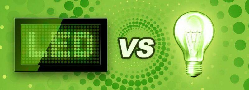 led vs hps bulb lamp