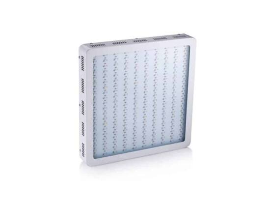 lampada grow led 1200 w full spectrum vista frontale