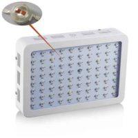 lampada led doppio chip 800 watt full spectrum front view