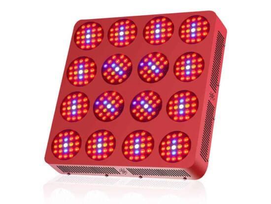 lampada led doppio chip double 16 3360 watt idroponica