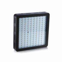 lampada led grow 900 watt black front view