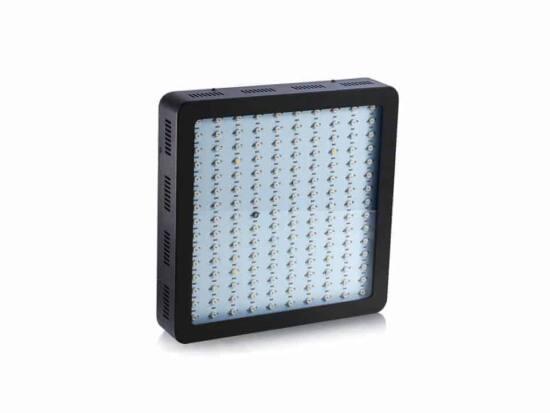 lampada led grow 900 w nera vista frontale