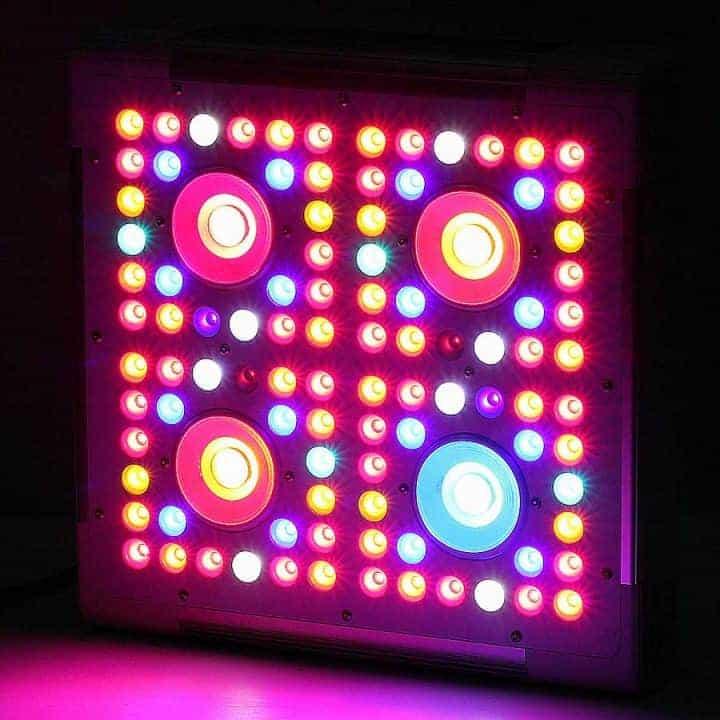 dimmer 4 led cob lamp