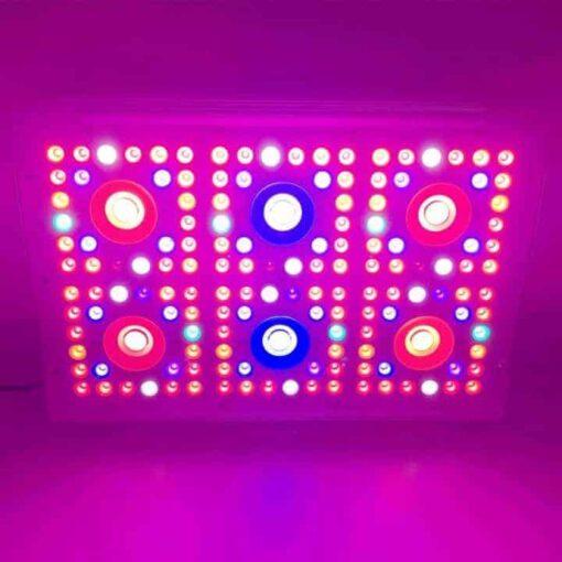 dimmer 6 led cob lamp