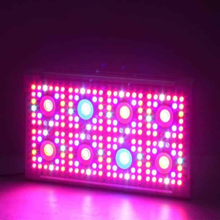 dimmer 8 led cob lamp