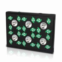 grow 6 led lamp black lamp