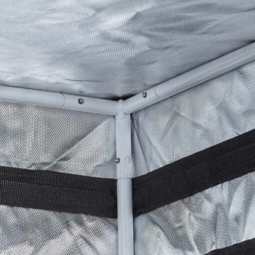 dettaglio interno grow tent