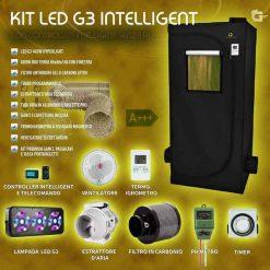 grow box kit completo 400w intelligent