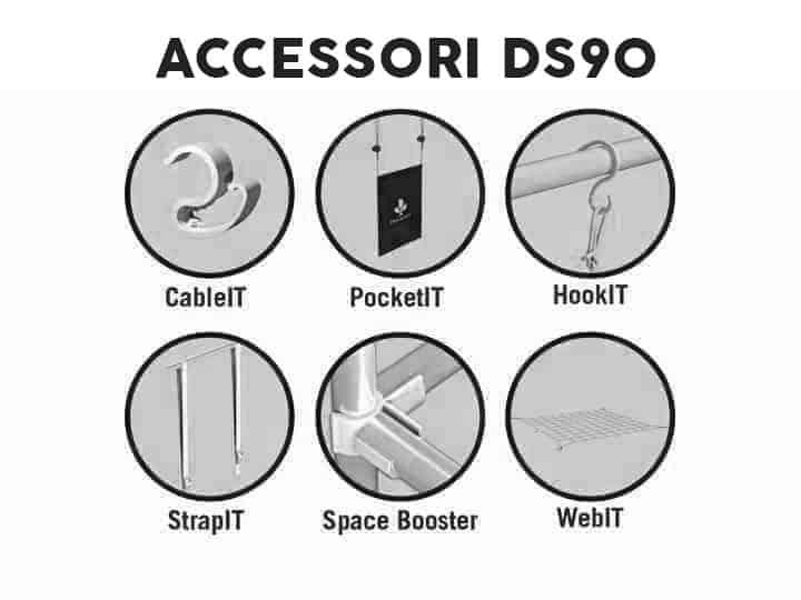 secret jardin ds90 accessori
