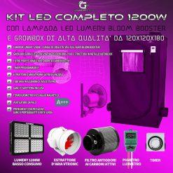 Impianto LED completo 120x120x200
