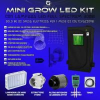 mini grow kit completo 60x60x140 300w